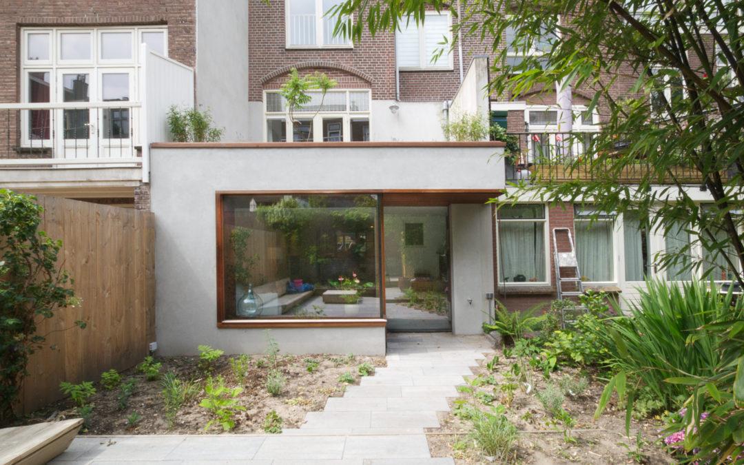 Verbouwing woonhuis Lijsterstraat Utrecht